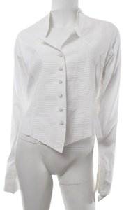 Anne Fontaine Shirt Button Down Shirt Top White