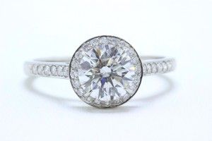 Tiffany & Co. G Vvs2 Embrace Round Diamond 1.85 Tcw Platinum Gia Boxes Engagement Ring