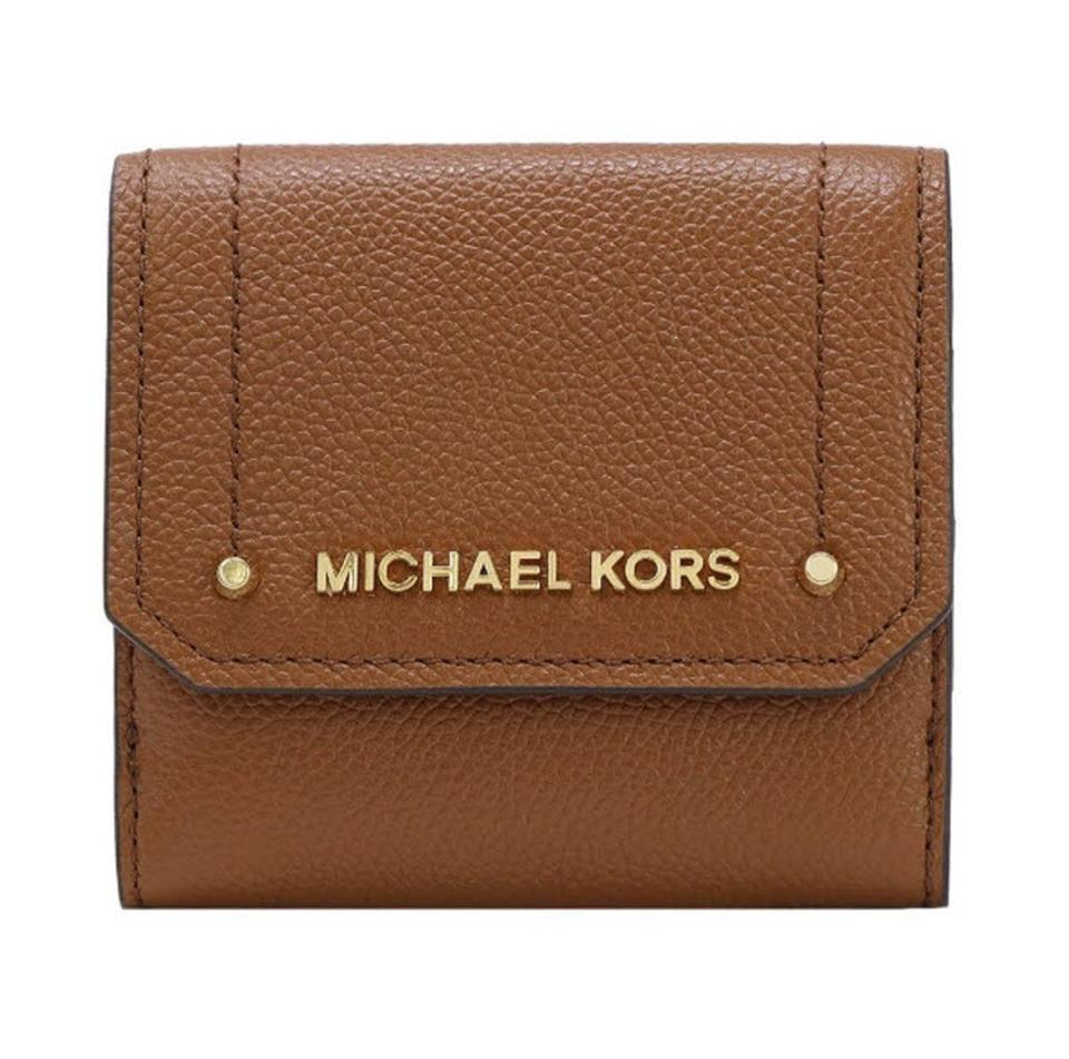 15c3d4d08cc0 Michael Kors Michael Kors HAYES MD TRIFOLD COIN PURSE WALLET Jet set travel  Image 0 ...