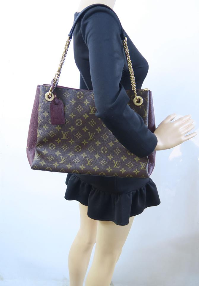 5f0c776d11 Louis Vuitton Surene Mm Brown Monogram Canvas Shoulder Bag