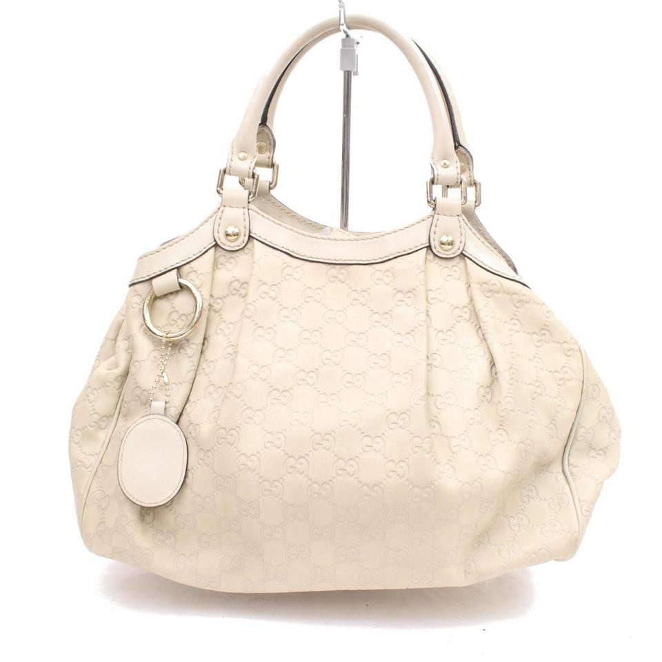 f6d628fab25d Gucci Pelham Soho Marmont Sylvie Abbey Tote in Ivory Image 0 ...