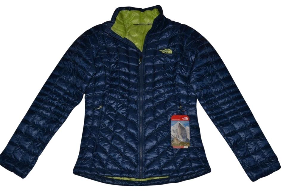 2b292793d8f3 The North Face Shady Blue Womens Thermoball Fz Xsmall Jacket Size 0 ...