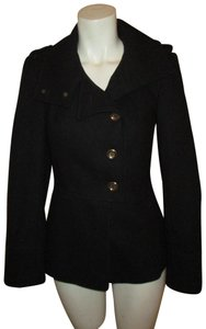 New Look Wool Military Fitted Pea Coat