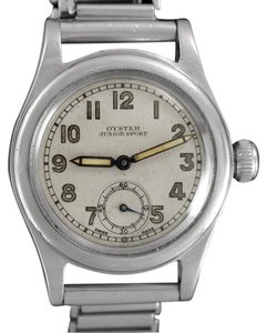 "Rolex 1939 Rolex Oyster Junior Sport Vintage Mens ""Boys"" Military Style Watc"