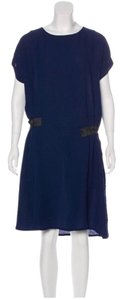Cotélac short dress blue and black on Tradesy