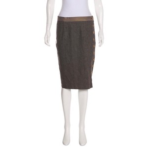 Pringle of Scotland Skirt brown gray