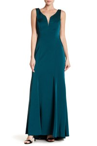 Marina Plunge V Neck Dress