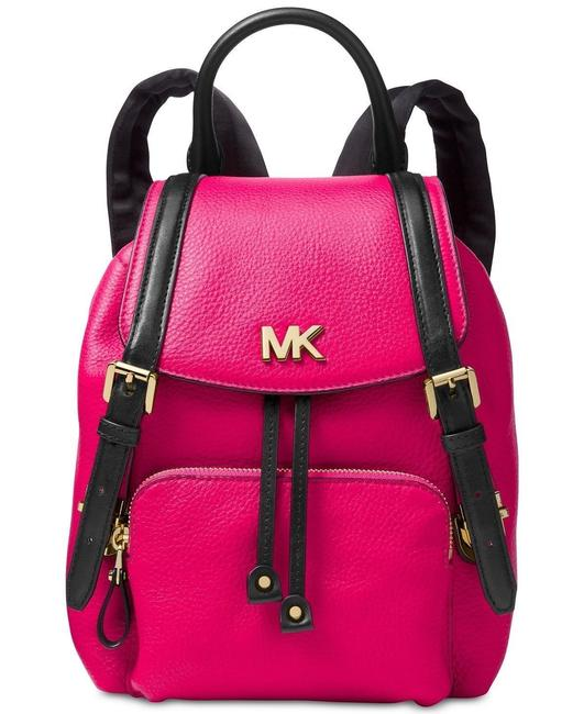Item - Beacon Pink Leather Backpack
