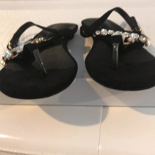 Other black suede with rhinestones Flats Image 1