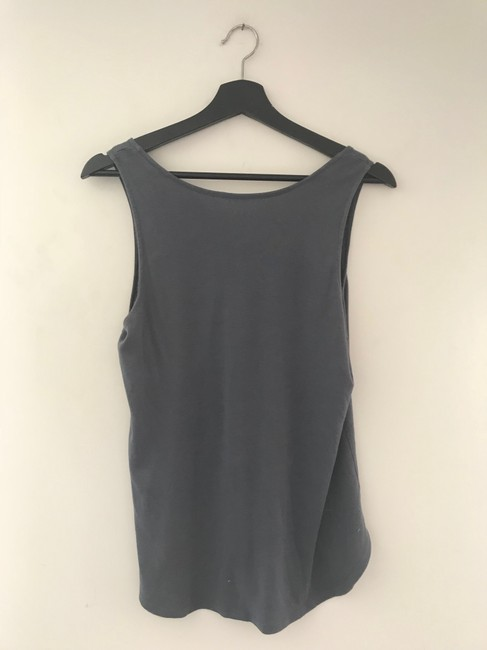 Three Dots Gray Button Tank Top/Cami Size 4 (S) Three Dots Gray Button Tank Top/Cami Size 4 (S) Image 6