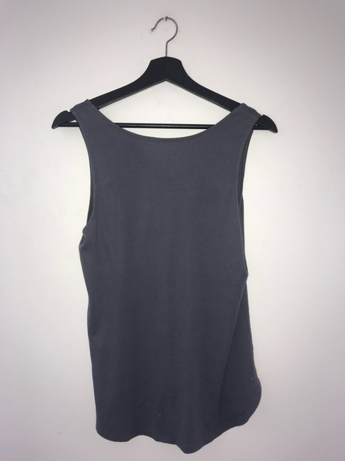 Three Dots Gray Button Tank Top/Cami Size 4 (S) Three Dots Gray Button Tank Top/Cami Size 4 (S) Image 7