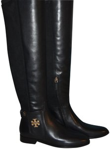Tory Burch Over The Knee black Boots