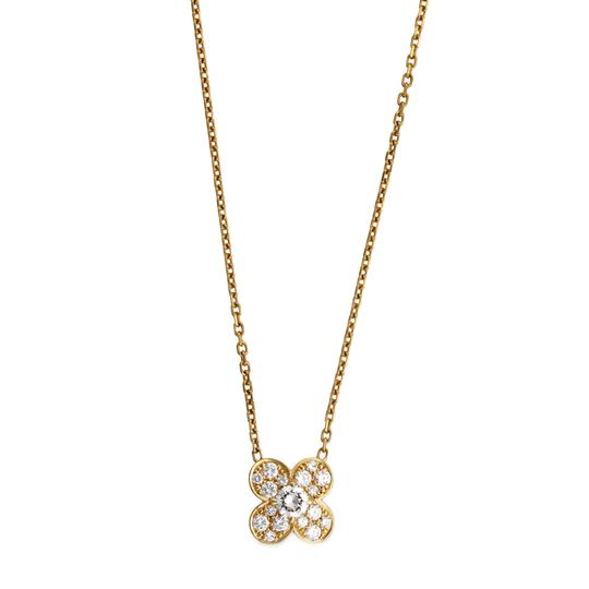 Preload https://img-static.tradesy.com/item/24008882/van-cleef-and-arpels-yellow-gold-18k-trefle-diamond-pendant-necklace-0-0-540-540.jpg