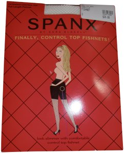 Spanx Spanx The Original Extended Control Top, Full Length Fishnets Sz B