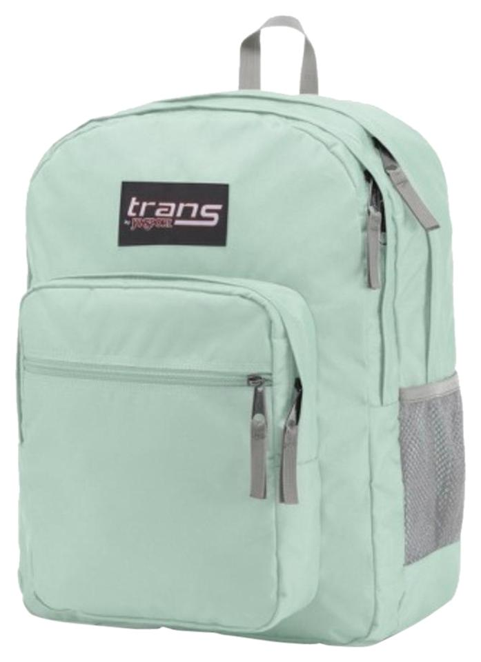 a128748115cd JanSport Supermax Mint Green Polyester Backpack - Tradesy