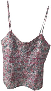Liberty of London Top Pink, Blue Floral