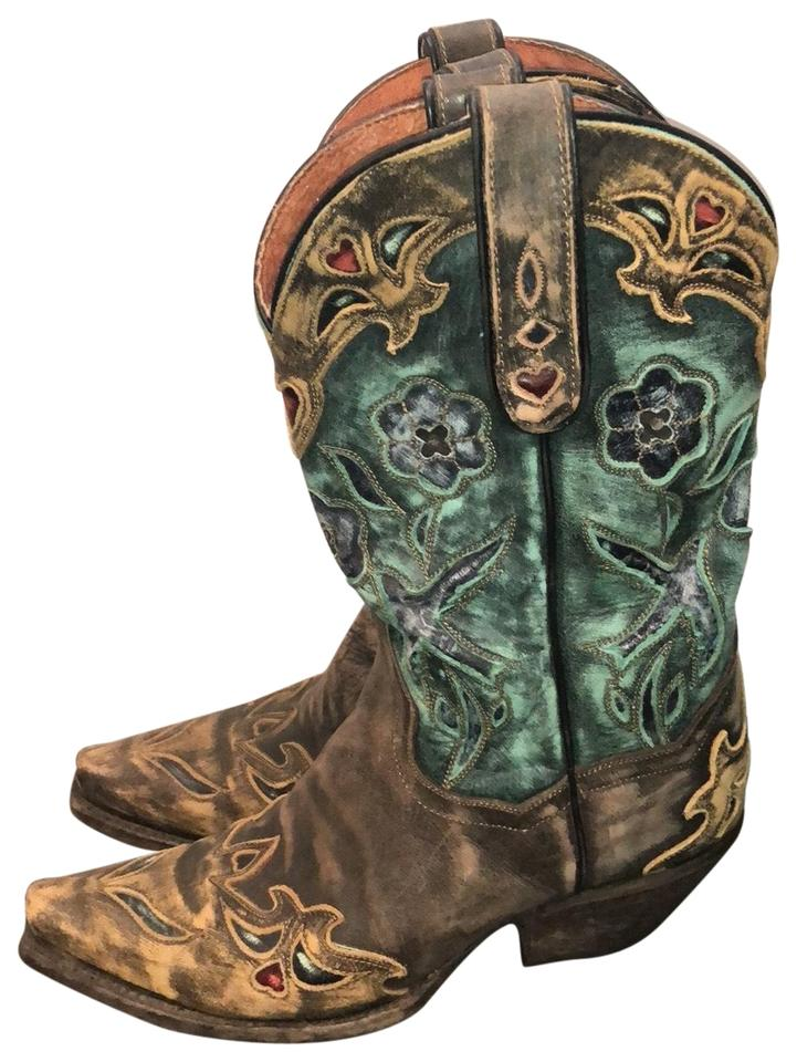 Dan Post Post Dan Boots Brown Cowgirl Boots/Booties 95c043