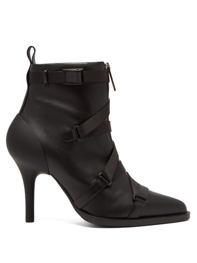 Preload https://item4.tradesy.com/images/chloe-black-leather-and-grosgrain-ankle-bootsbooties-size-eu-36-approx-us-6-regular-m-b-24009103-0-0.jpg?width=440&height=440