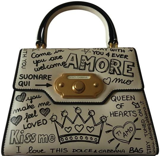 Preload https://img-static.tradesy.com/item/24009123/dolce-and-gabbana-top-handle-welcome-amore-black-and-white-satchel-0-1-540-540.jpg