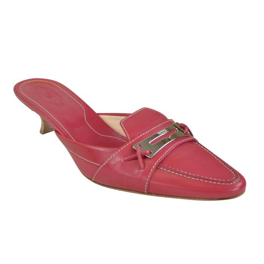 Tod's Heels Red 9.5 1.5