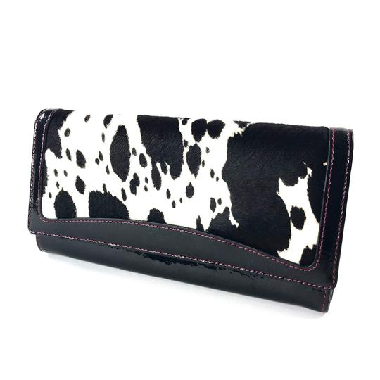 Preload https://img-static.tradesy.com/item/24009136/black-white-red-calf-hair-and-patent-leather-wallet-0-0-540-540.jpg