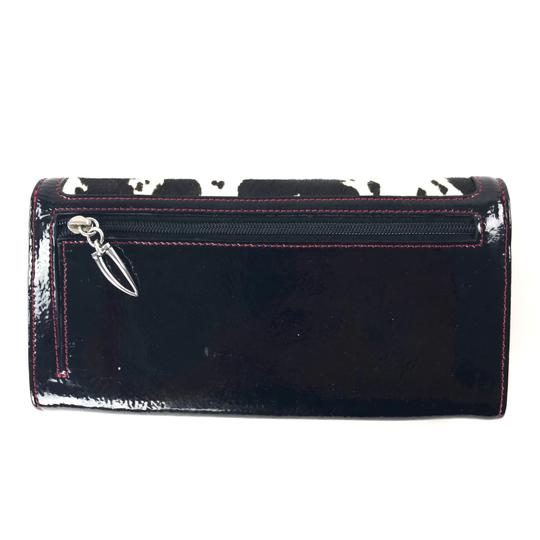 Tusk Calf Hair & Patent Leather Wallet