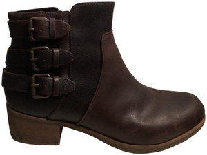 UGG Australia Shearling Fall Brown Leather Boots