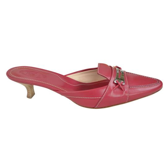 Tod's Heels Red 8 1.5