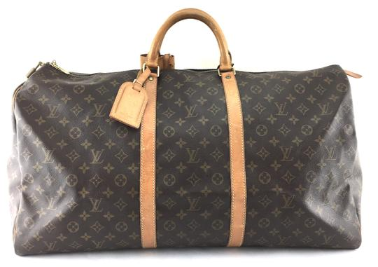Preload https://img-static.tradesy.com/item/24009159/louis-vuitton-keepall-22106-60-duffel-monogram-coated-canvas-weekendtravel-bag-0-1-540-540.jpg
