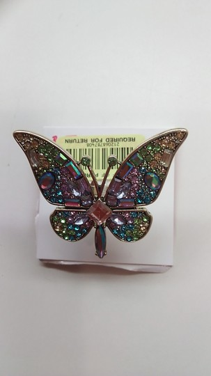 Betsey Johnson Betsey Johnson New Butterfly Ring and Earrings