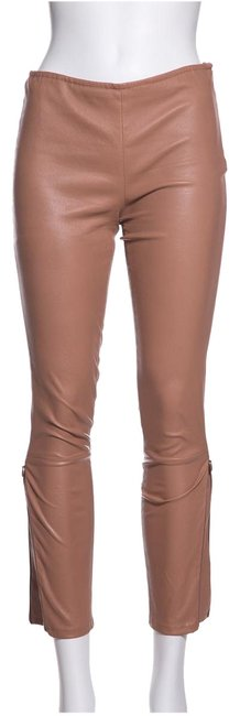 Preload https://item1.tradesy.com/images/the-row-blush-leather-leggings-size-6-s-28-24009180-0-1.jpg?width=400&height=650