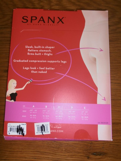 Spanx Spanx Sheers leg support Sz B black