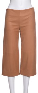 Chloé Wide Leg Pants Tan