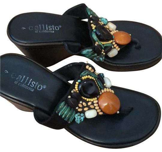 Preload https://item1.tradesy.com/images/browns-faux-turquoise-and-amber-beaded-platform-wedge-flip-flop-sandals-size-us-9-regular-m-b-24009215-0-1.jpg?width=440&height=440