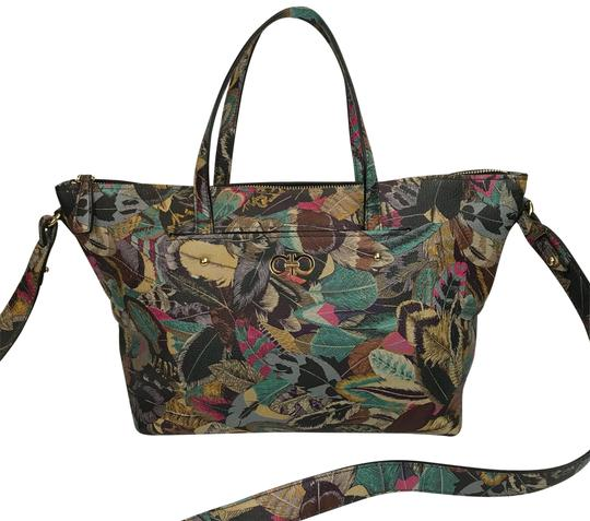 Preload https://item5.tradesy.com/images/salvatore-ferragamo-multi-leaf-print-mika-tote-leather-satchel-24009219-0-1.jpg?width=440&height=440