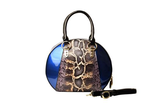 Preload https://item2.tradesy.com/images/bravo-handbags-svetlana-version-2-with-python-print-blue-enamel-coated-calfskin-leather-satchel-24009221-0-0.jpg?width=440&height=440