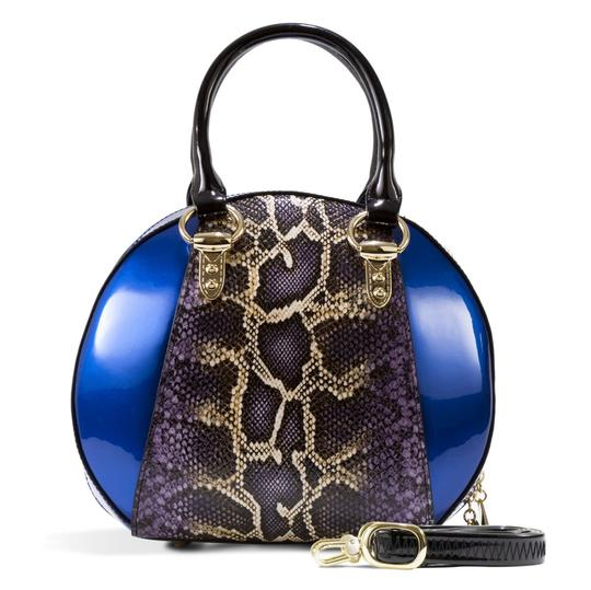 Preload https://img-static.tradesy.com/item/24009221/bravo-handbags-svetlana-version-2-with-python-print-blue-enamel-coated-calfskin-leather-satchel-0-1-540-540.jpg