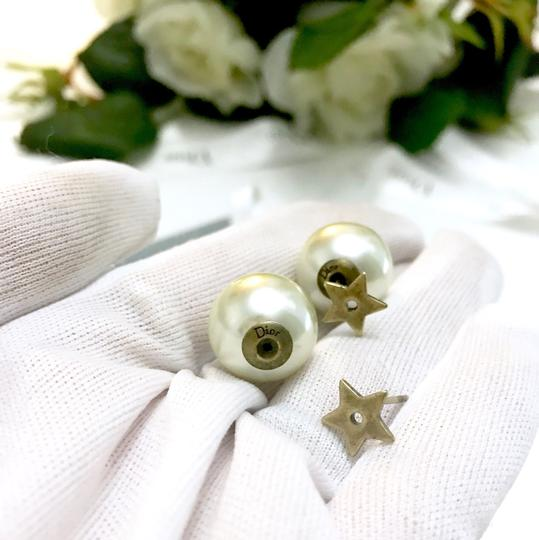Dior Dior brass metal star Tribale Earrings
