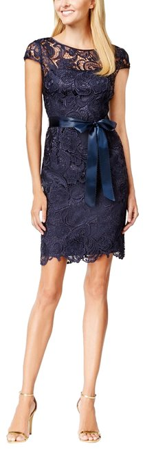 Preload https://item4.tradesy.com/images/adrianna-papell-midnight-blue-lace-cap-sleeve-illusion-sheath-mid-length-formal-dress-size-2-xs-24009258-0-1.jpg?width=400&height=650
