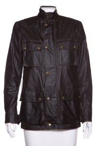 Belstaff Black & Green Jacket