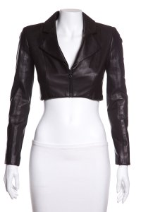 Cushnie et Ochs Leather Jacket