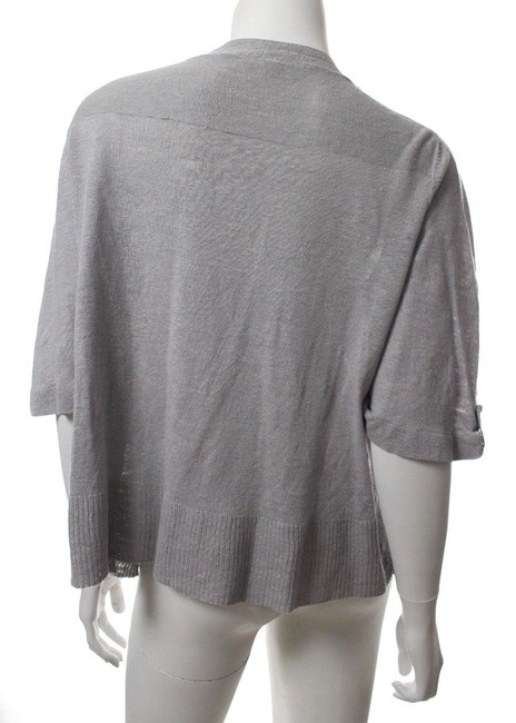 Eileen Fisher Sweater Linen Linen Sweater Cardigan
