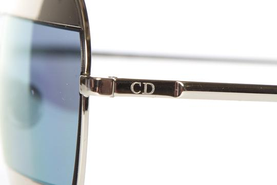 Dior CHRISTIAN DIOR Silver Split 1 Mirrored Lens Sunglasses