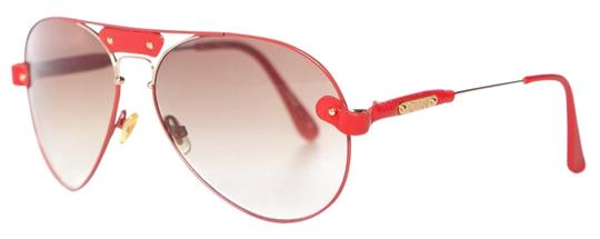 Preload https://item4.tradesy.com/images/chloe-red-and-gold-tone-aviator-sunglasses-24009313-0-1.jpg?width=440&height=440