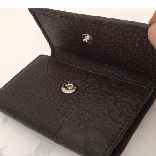 Gucci Brown Key Case Wallet