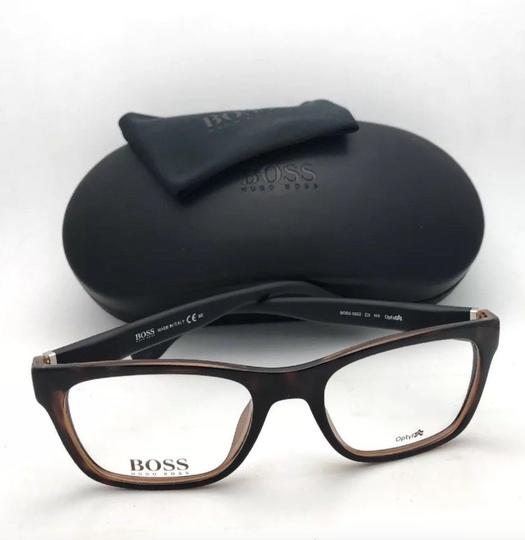Hugo Boss New HUGO BOSS Eyeglasses 0832 Z2I 52-19 140 Tortoise Black Rubberized