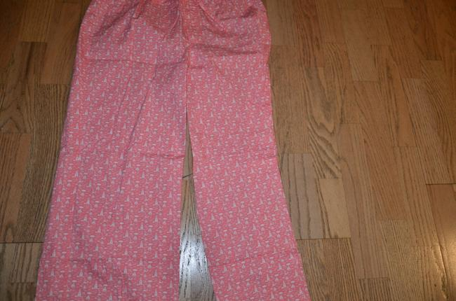 Vineyard Vines Relaxed Pants pink off white