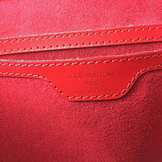 Louis Vuitton Tote in red epi