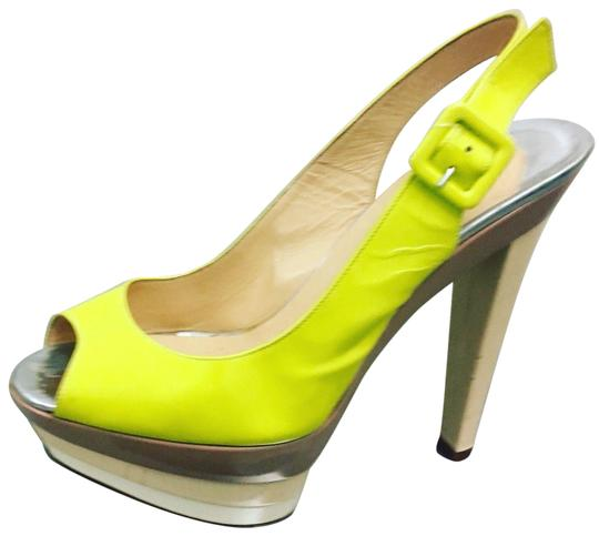 Christian Louboutin Pumps Chanel Espadrilles Yellow Platforms