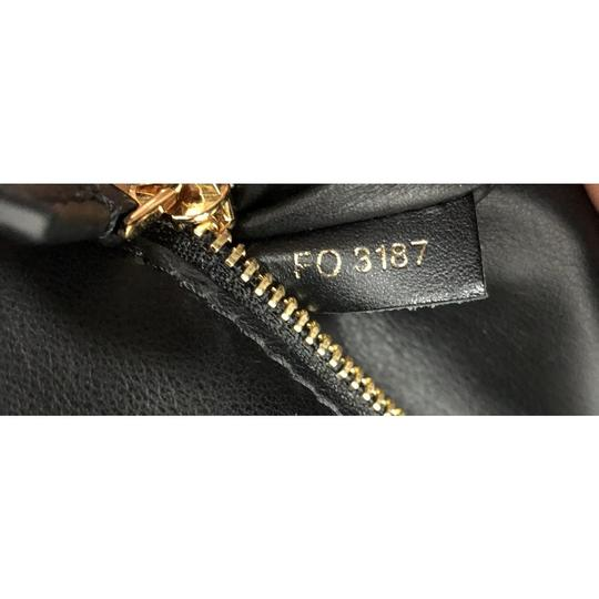 Louis Vuitton Leather Tote in black
